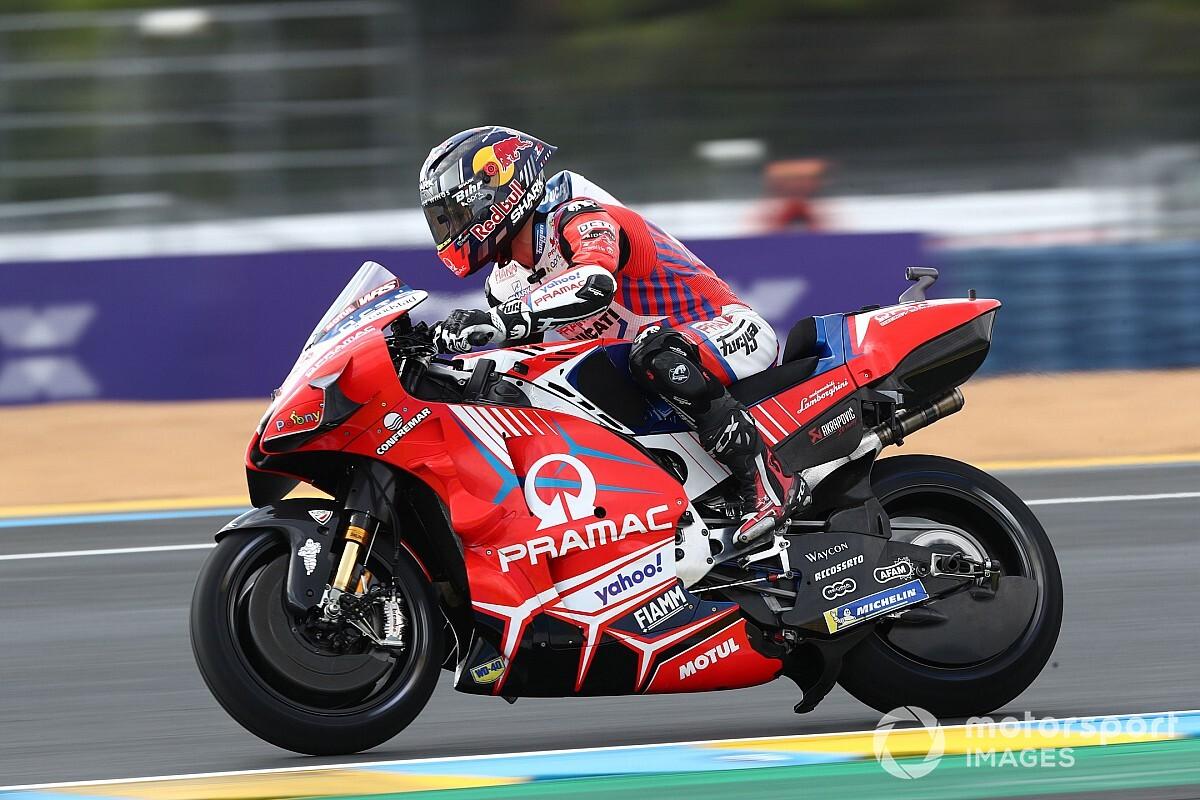 MotoGPフランスFP2:まるで予選! アタック合戦制したザルコが母国戦初日首位。中上10番手
