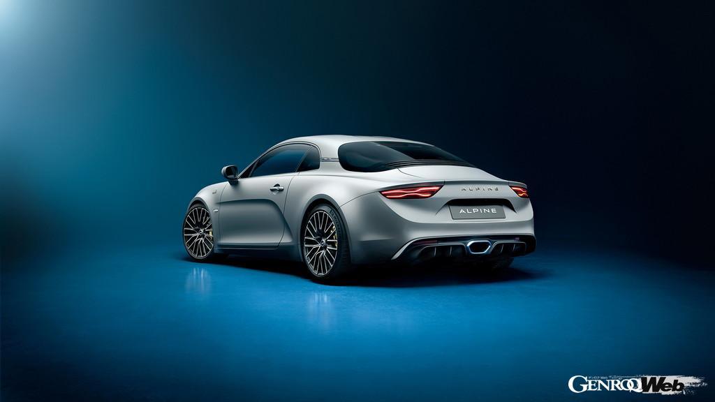 A110Sと同じエンジンスペックと専用装備を与えた限定車、アルピーヌ A110 リネージ GT 2021、受注販売開始