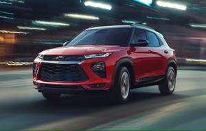 シボレーの新作SUV、復活した「トレイルブレイザー」のアウトラインが明らかに!