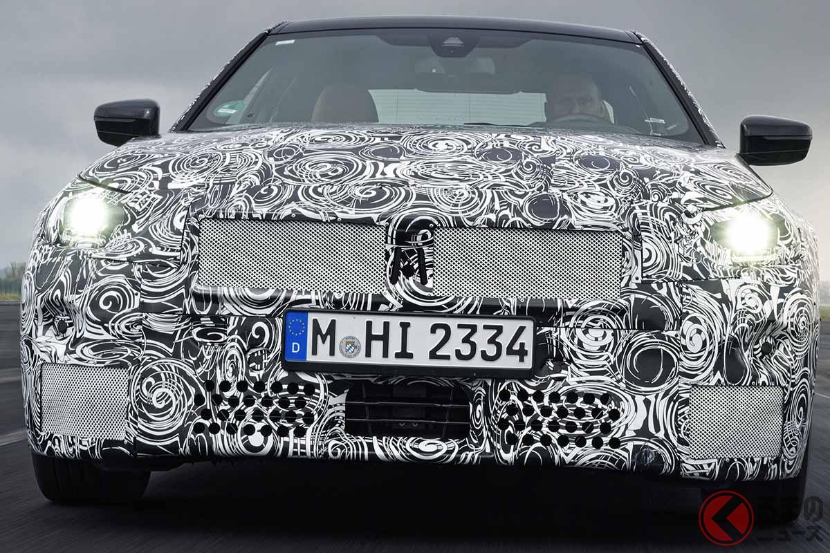 BMW新型「2シリーズクーペ」2021年夏に世界初公開! 新FRスポーツは開発テスト最終段階に
