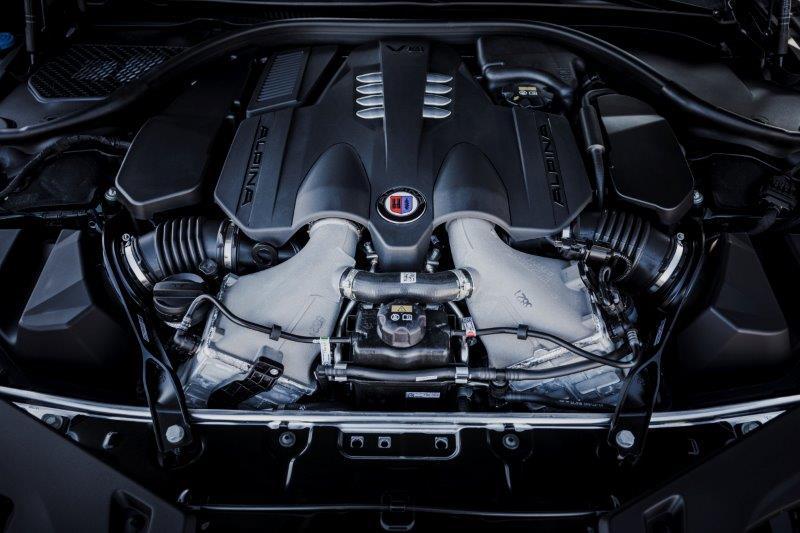0-100km/h加速は3.4秒!4.4ℓ、V型8気筒エンジンを搭載したBMW ALPINAのラグジュアリークーペ「B8 Grand Coupe」
