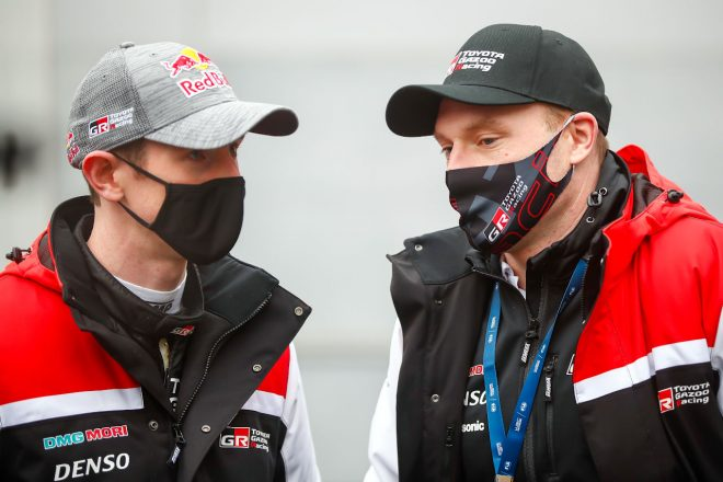 トヨタとの契約交渉について「リラックスしている」とエバンス。ラトバラは残留を熱望/WRC