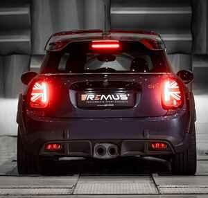 MINI史上最速モデル【John Cooper Works GP】の専用マフラーがREMUSから登場