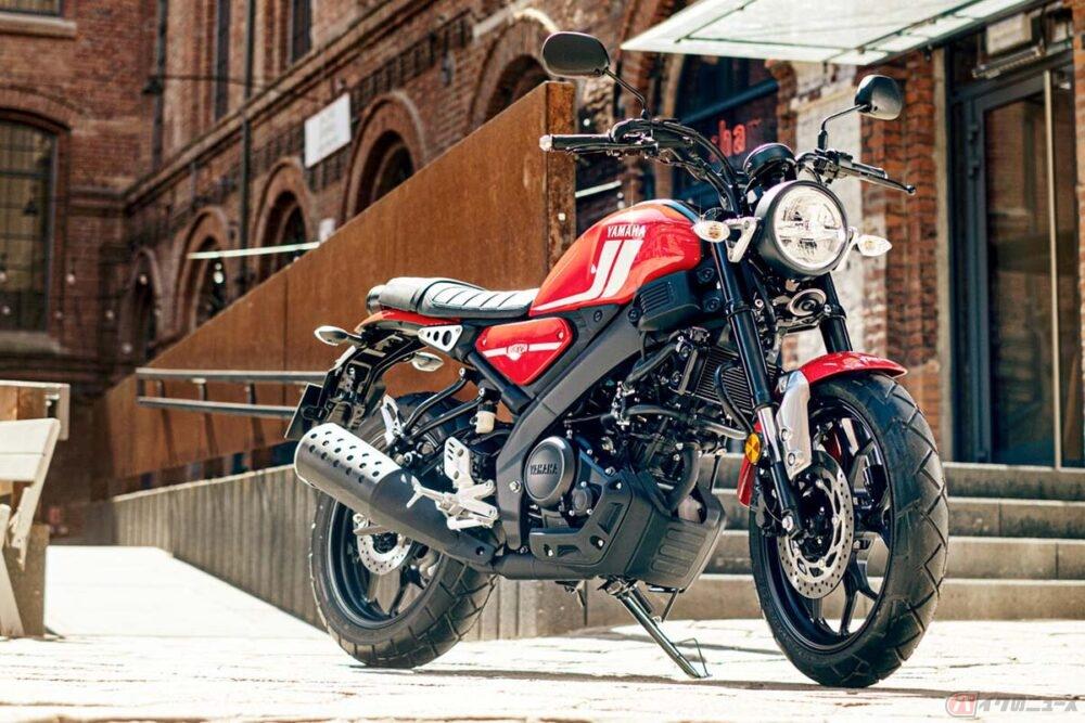 ヤマハ「XSR125」登場 シリーズ最少排気量の原付二種ヘリテイジスポーツ