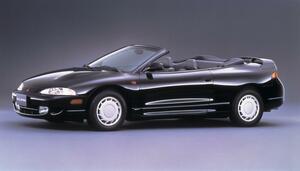 【今日は何の日?】三菱エクリプス スパイダー発表「北米生産で輸入された左ハンドルオープンモデル」23年前 1996年5月23日