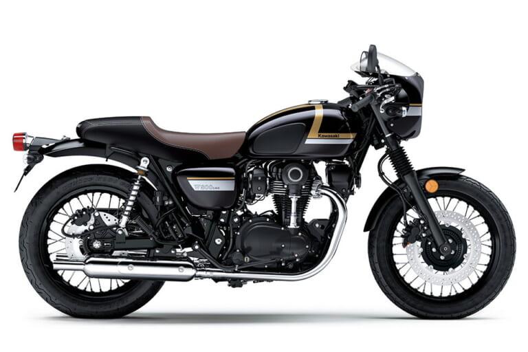 カワサキが海外で「W800」「W800カフェ」の新色を発表! 前例に従い日本にも導入か