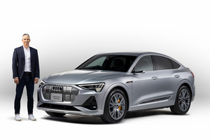 アウディの高性能な電気自動車クワトロ「e-tronスポーツバック」詳しい解説