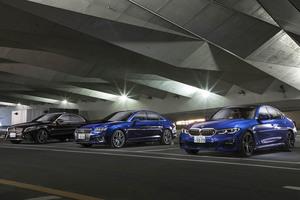 【比較試乗】「メルセデス・ベンツC200 vs BMW 330i Mスポーツ vs アウディA4 45 TFSI クワトロ」ミドル級セダンのエースを探せ!