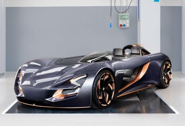 スズキがEVオープンスポーツのコンセプトカー「ミサノ」をイタリアで発表
