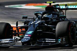 F1イタリアGP FP1:トップタイムはボッタス。アルボン3番手、ホンダPU勢4台が上位につける