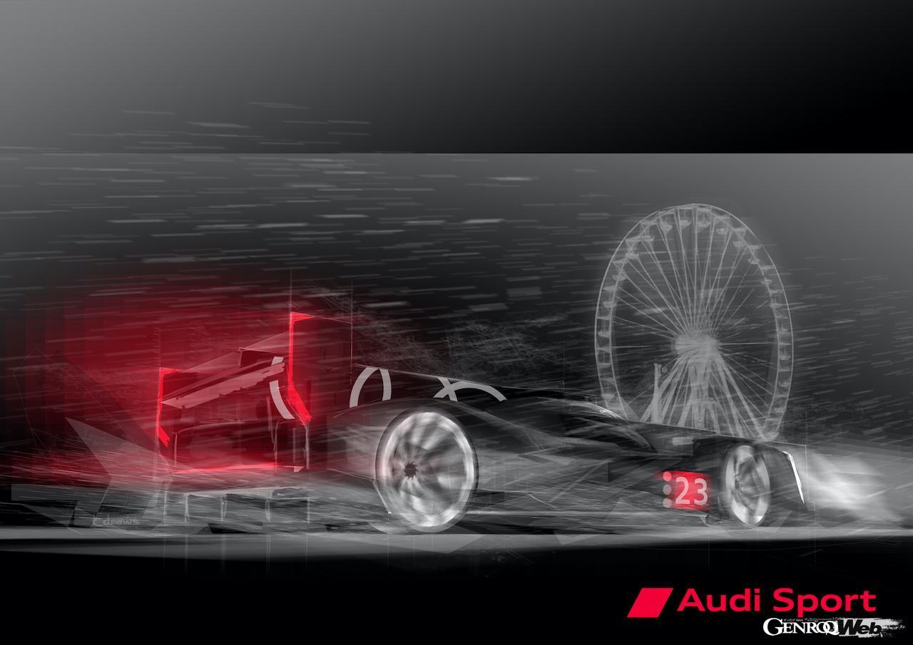 アウディ、スポーツプロトタイプレースに復帰! ポルシェが開発に加わり2023年シーズンのル・マン24時間は大混戦か!?