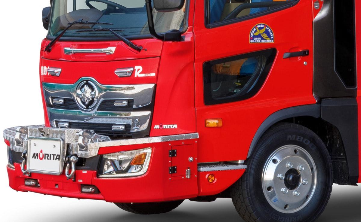 まさにヒーローマシン!モリタの新しい消防車がかっこよくて機能的!