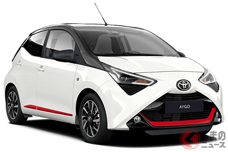 赤アクセントがド派手! トヨタ「アイゴ」斬新デザインの特別モデルがスペインで登場!