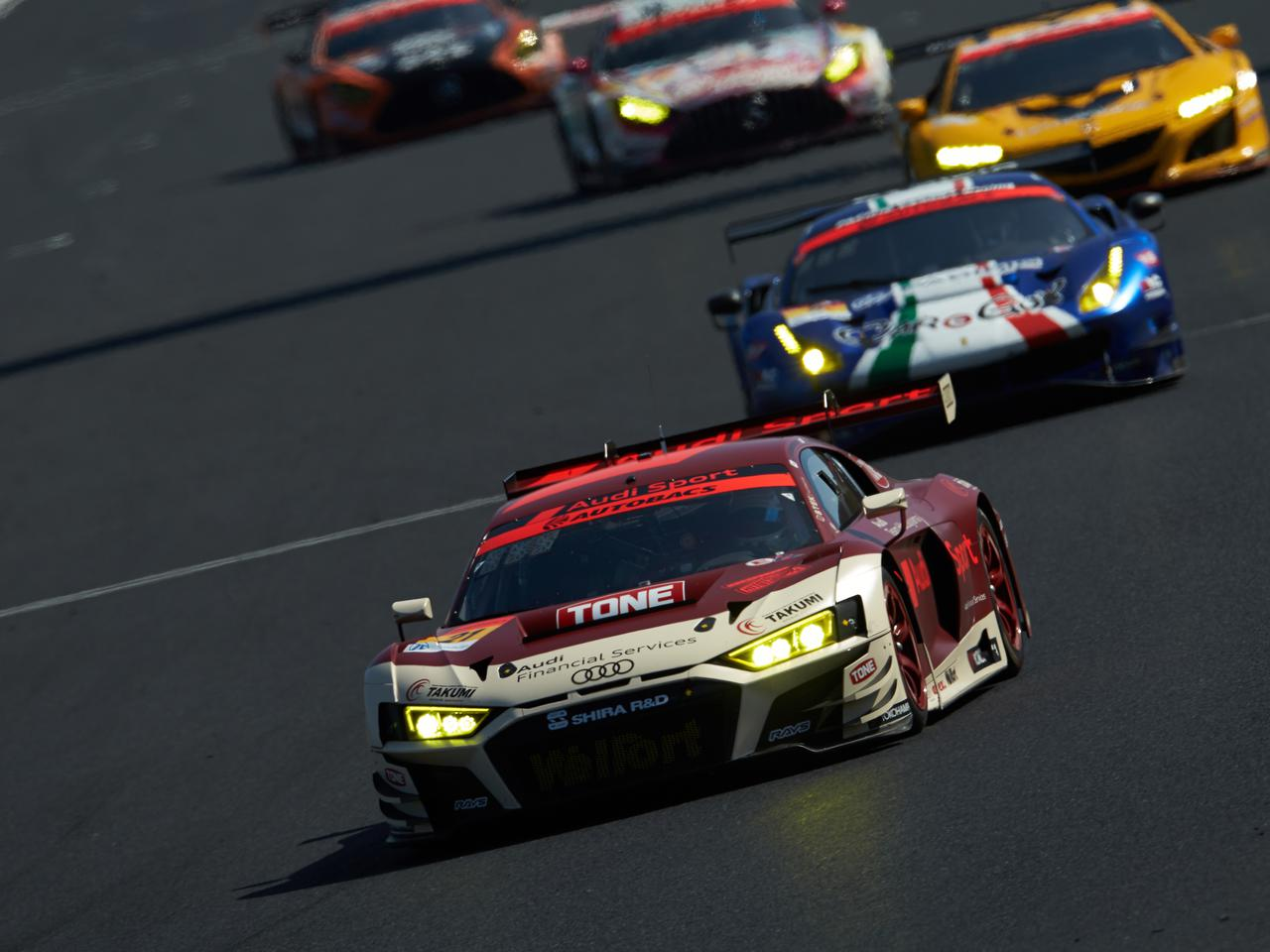 スーパーGT開幕戦GT300クラスで、アウディR8 LMSは13位と22位で完走【モータースポーツ】