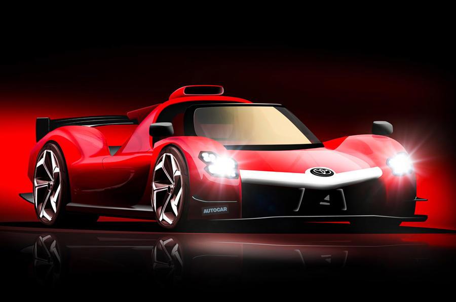 【1000psのハイパーカー】トヨタGRスーパースポーツ 2022年登場か 2.4L V6ハイブリッド搭載