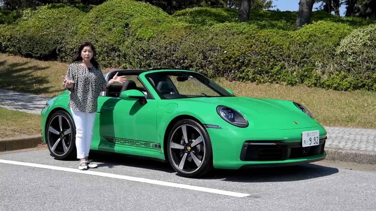 【動画】竹岡 圭のクルマdeムービー「ポルシェ 911タルガ4」(2021年5月放映)