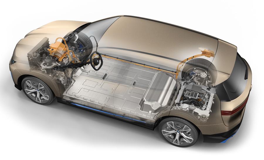 BMWが変わる 新開発のASV電気自動車「iX」の予約注文のオンライン受付開始