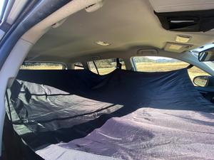 ソロキャンに新しい波到来!?米国で話題の「カーハンモック」はレンタカー車中泊に役立つか?