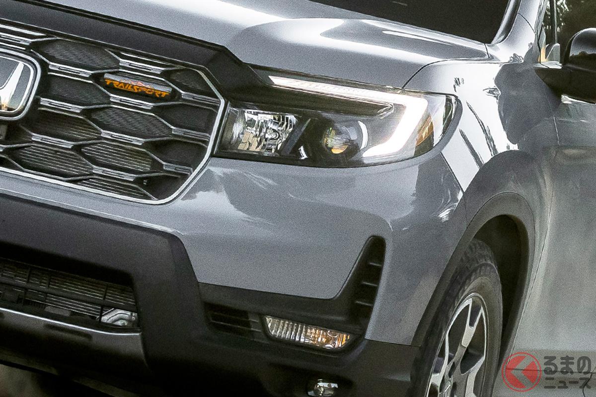 ホンダ新型「パスポート トレイルスポーツ」世界初公開! 5m級タフ顔SUVを今冬に米国で発売へ
