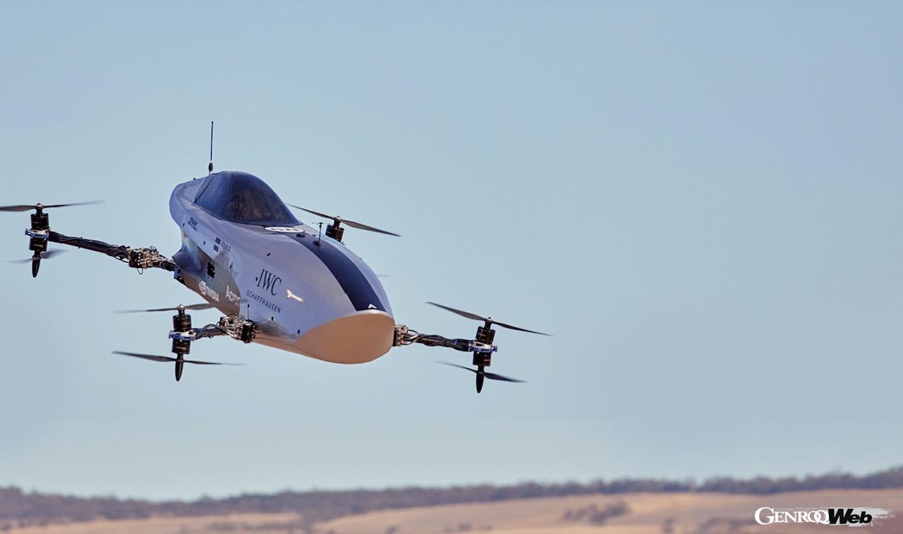 世界初の電動フライングカーレース「エアスピーダー EXA シリーズ」、予告動画を公開 【動画】