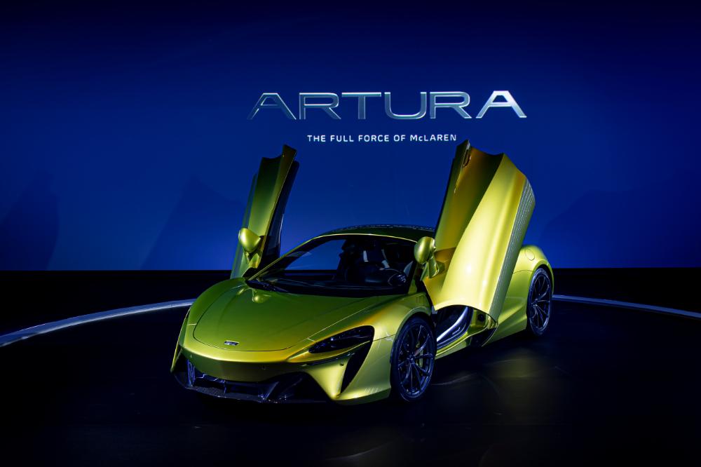 マクラーレン初のシリーズ生産ハイパフォーマンスハイブリッドスーパーカー「Artura」登場