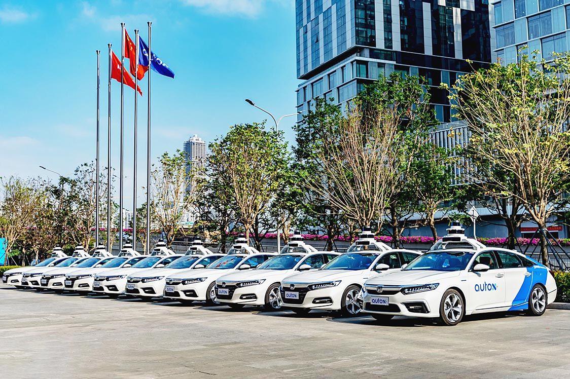 中国スタートアップのオートX、自動運転技術でホンダと提携 「レベル4」の公道テスト
