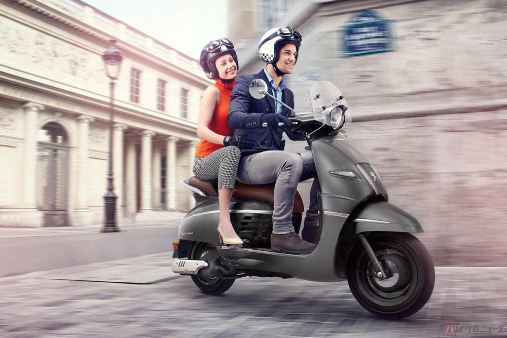 「オー!マイ・ボス!恋は別冊で」劇用バイク プジョーモトシクル「ジャンゴ 125 ABS DX」限定販売
