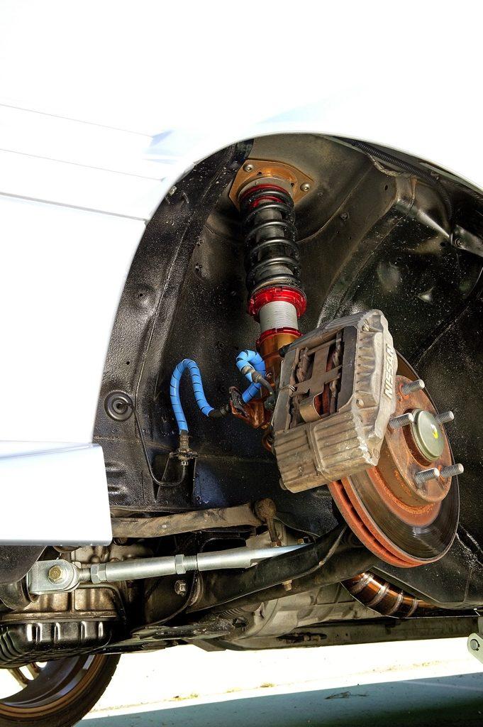 「あえて邪道を突き進むR31スカイライン改」SR20DET+Vマウント化で旋回性能に磨きをかける!