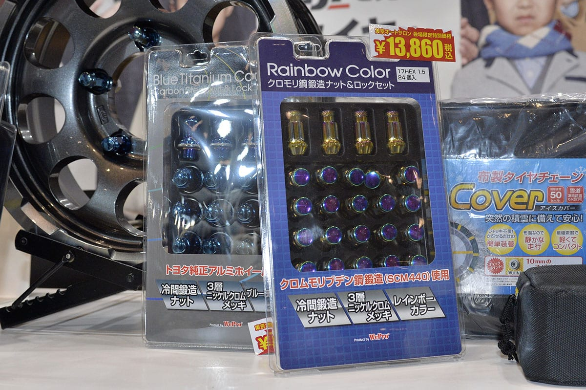 雪対策・パンク対策! タイヤ&ホイール専門店のブースで今日買って帰れます!【東京オートサロン2020】