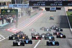2022年のFIA-F2/FIA-F3のカレンダーが発表に。F2は最多の14大会28レースを実施へ