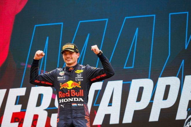 フェルスタッペンが今季3勝目「一度失った首位を戦略で奪還。あれほどうまくいくとは思わなかった」/F1第7戦