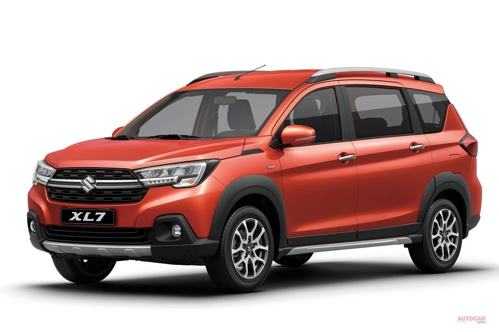 【3列シート7人乗り】スズキ新型XL7 中型SUV、インドネシアで発表 輸出計画も