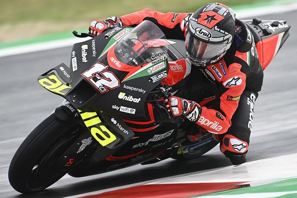 """【MotoGP】タイムより""""学習""""……ビニャーレス、サンマリノ初日首位も「落ち着いて、しっかりとした歩みで進まないと」"""