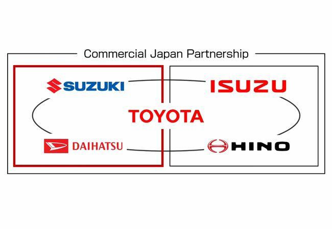スズキとダイハツが同時参画する軽商用事業「Commercial Japan Partnership」プロジェクトは、トヨタの力でCASEを普及させるか