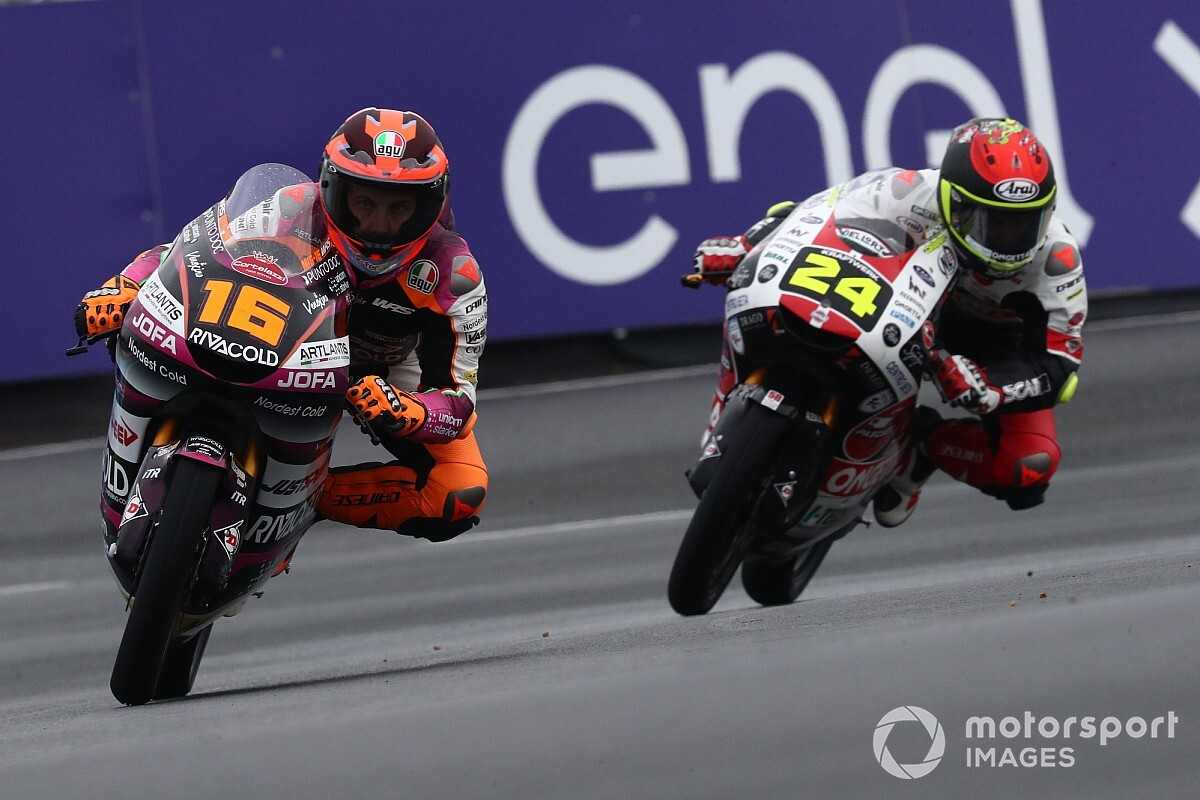 Moto3フランス予選:ミーニョ、天候急変もスリックタイヤでアタック決めPP獲得。日本勢は鈴木竜生が9番手最上位