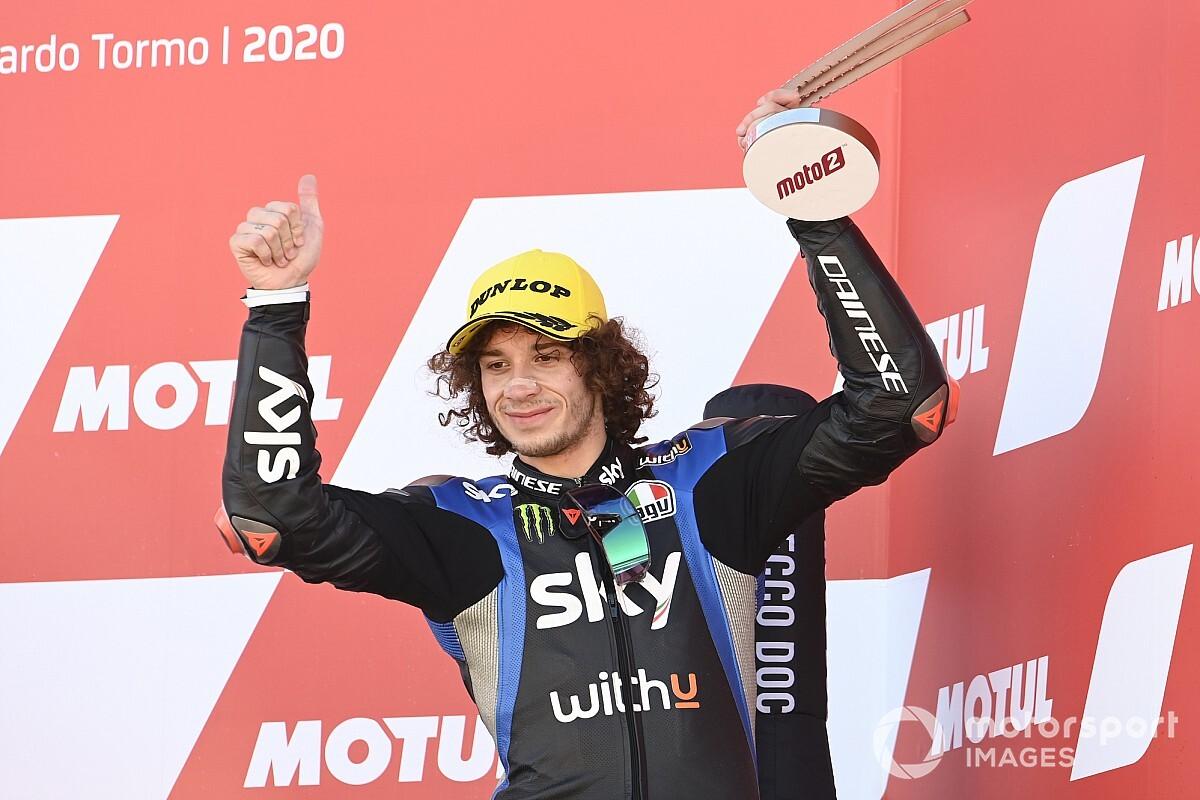【MotoGP】2021年のライダー決まらぬアプリリア、ベッツェッキ起用はVR46が却下。現在はジョー・ロバーツに食指?