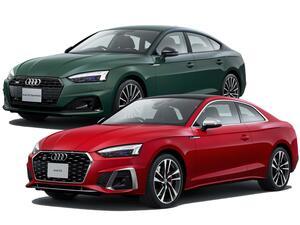 アウディ A5/S5シリーズが内外装を刷新。マイルドハイブリッドモデルとディーゼル搭載モデルの追加も