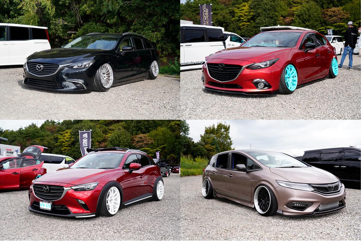 SUVもワゴンもミニバンも「着地」! 低さが命の「ドシャコタン」車4台の衝撃ルックス