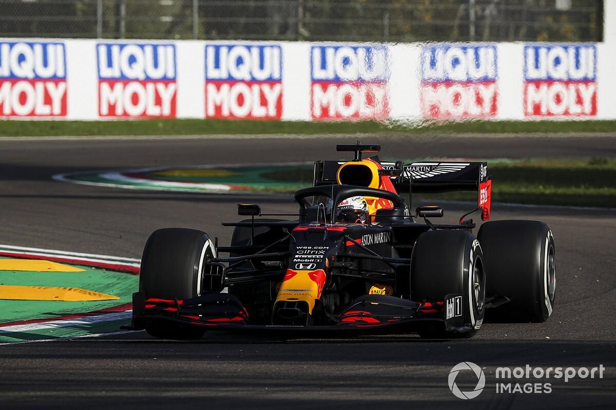 F1エミリア・ロマーニャFP速報:ハミルトンが首位発進。レッドブル・ホンダのフェルスタッペン2番手、ガスリーも4番手に続く
