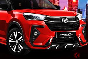 ダイハツ、新型SUV「アティバ」世界初公開! トヨタ「ライズ」よりオラ顔!? 既に5000台受注で好発進