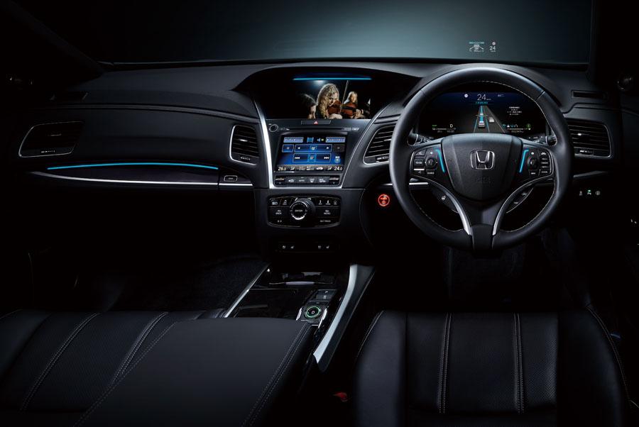ホンダ 世界初のレベル3自動運転車「レジェンド ハイブリッド EX Honda SENSING エリート」を発売