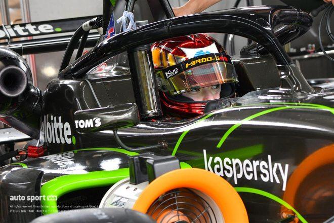 スーパーフォーミュラ・ライツの木曜午前走行に5名のトップドライバーが参加。それぞれに意図あり