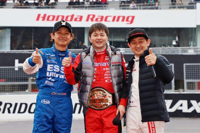 3月開催のモースポフェス2020で本山、脇阪、道上の再戦決定! 日野レンジャーのデモランも