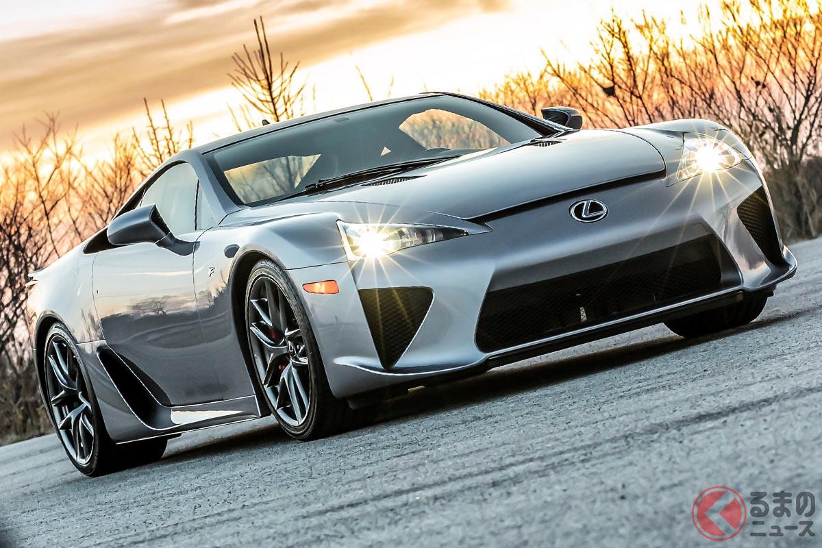 実走800kmのレクサス「LFA」が出品! 5000万円オーバーのプレ値がつくか