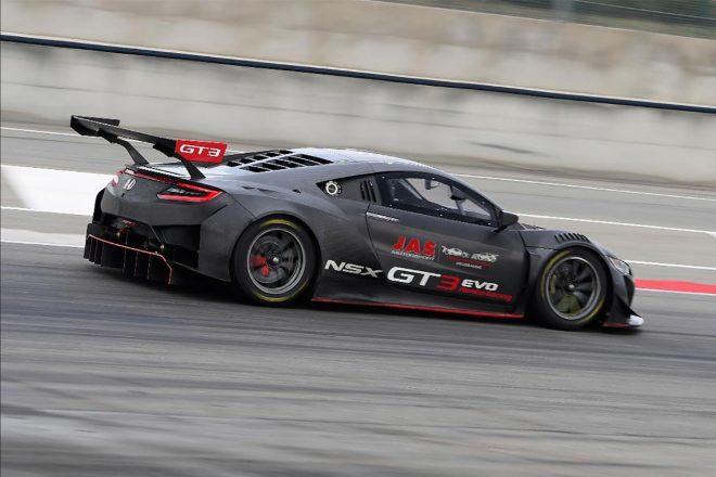 JASモータースポーツがホンダNSX GT3/シビックTCRでドライバー育成プログラムを開始
