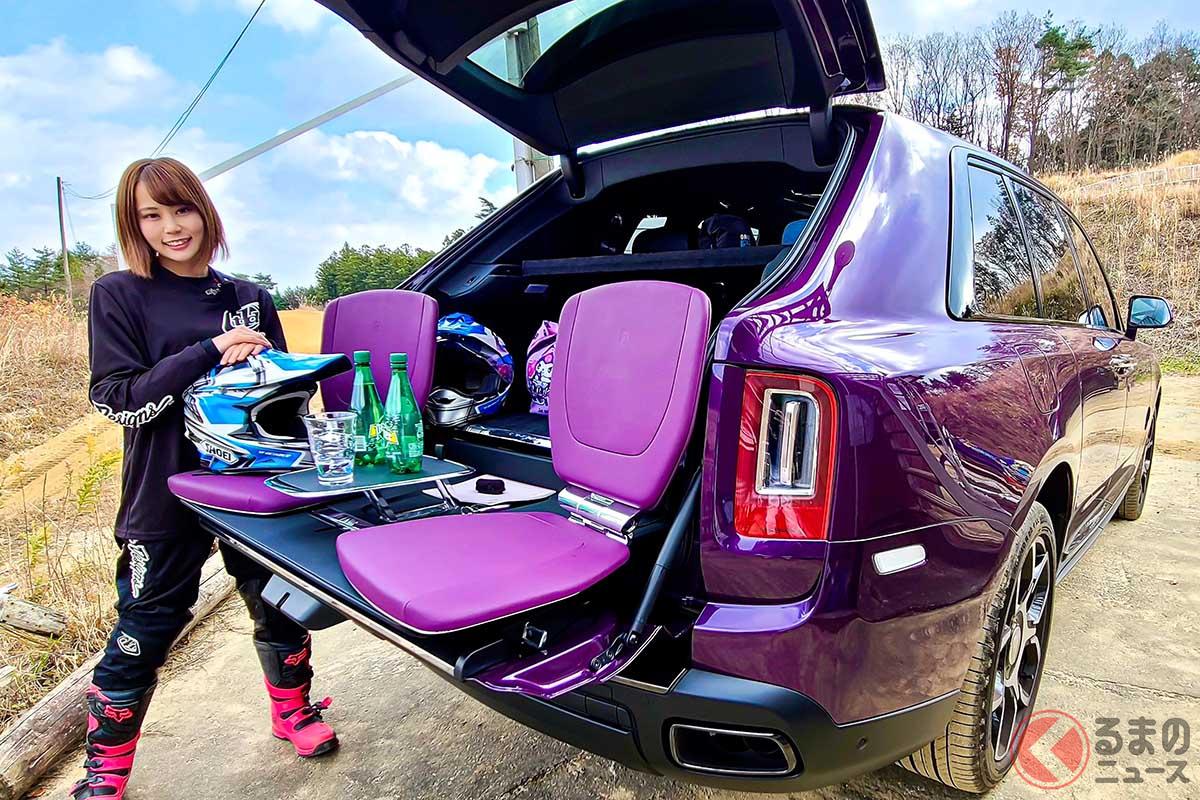 超高級SUVロールス・ロイス「カリナン」に女子を乗せてみた【後席インプレッション】