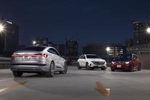 【比較試乗・EV編】「メルセデス・ベンツEQC×BMW i3×アウディe-tronスポーツバック」出揃った各ブランドのBEVモデル。モビリティの新しい夜明け。