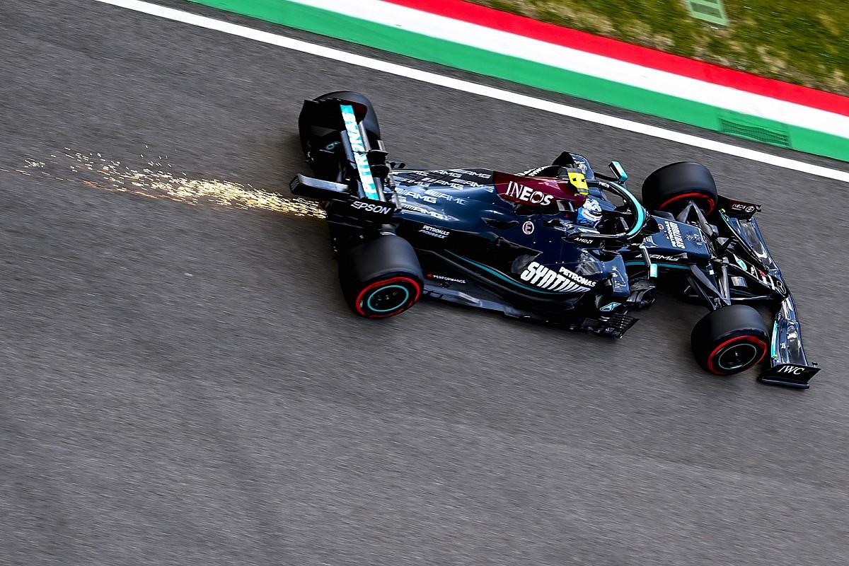 予選8番手に沈んだボッタス、不安定なマシンを信頼できず「これまでになかった問題が起きていた」|F1エミリア・ロマーニャGP