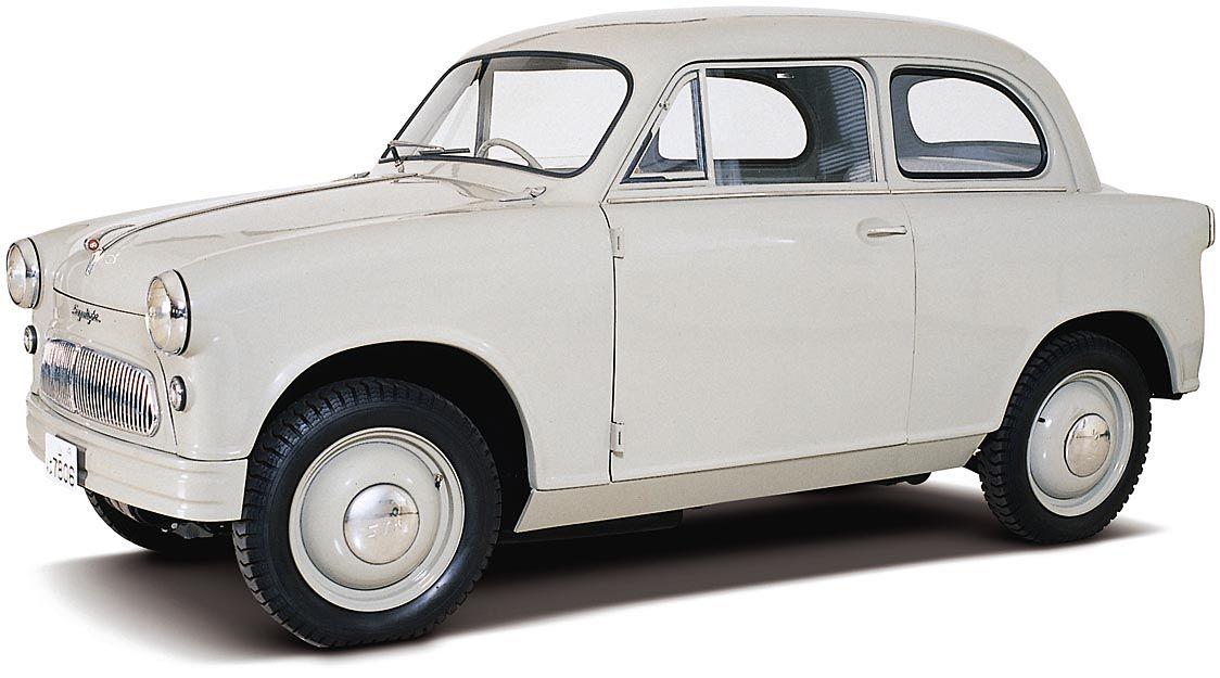 スズキ、軽四輪車の国内累計販売が2500万台達成 1955年の「スズライト」から65年
