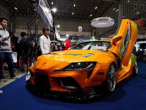ワイルド・スピード最新作に登場するなら、こうなる!? まるで新型スープラなレクサス SC430【東京オートサロン2020】